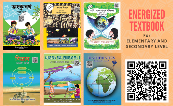 Energized Textbooks for Elementary  and Secondary Level
